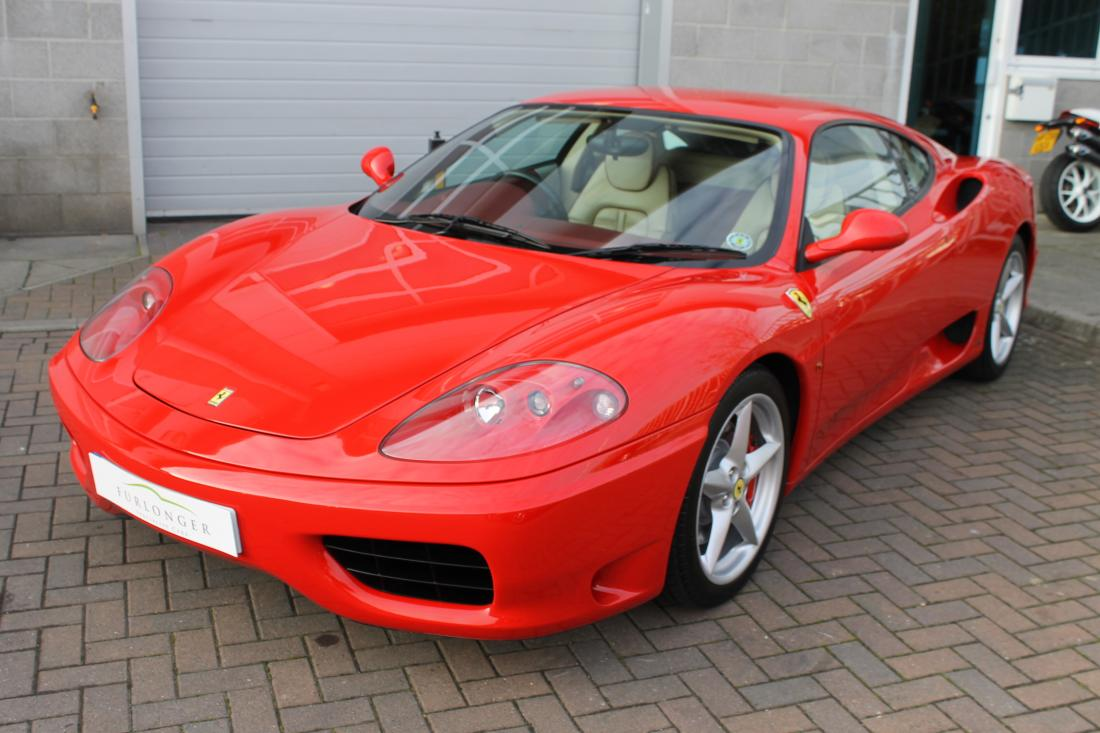 exporter used ferrari ferrar for japanese car sale at pokal