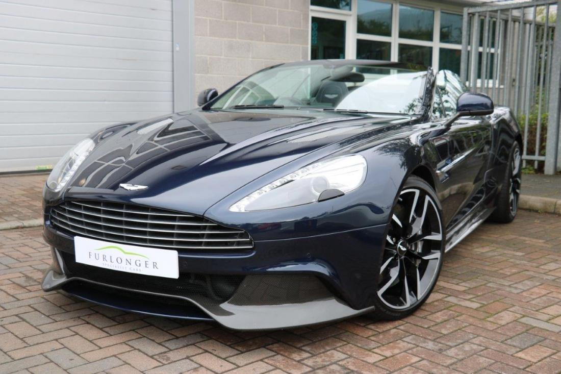 Aston Martin Vanquish Volante For Sale In Ashford Kent Simon Furlonger Specialist Cars