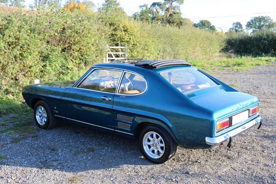 Ford Capri Gt Xlr V4 For Sale In Ashford Kent Simon Furlonger Specialist Cars