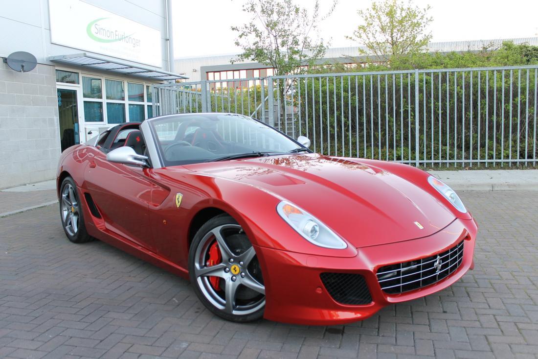 Ferrari 599 Sa Aperta For Sale In Ashford Kent Simon Furlonger Specialist Cars