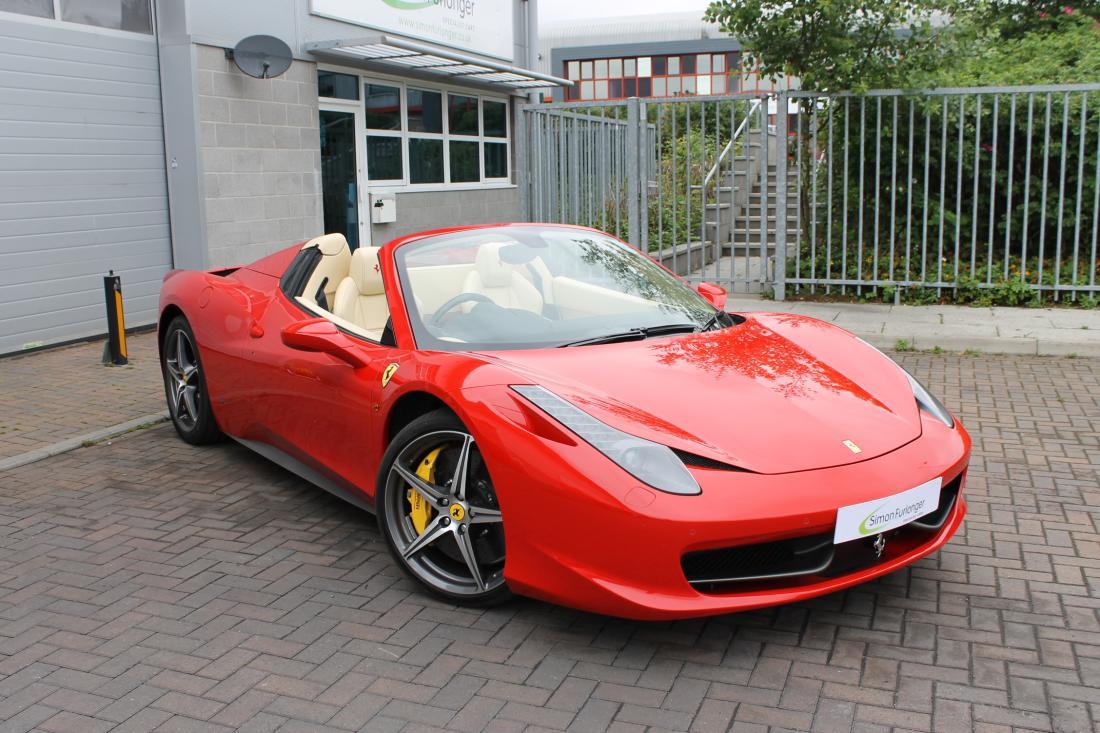 Ferrari 458 Spider For Sale In Ashford Kent Simon Furlonger Specialist Cars