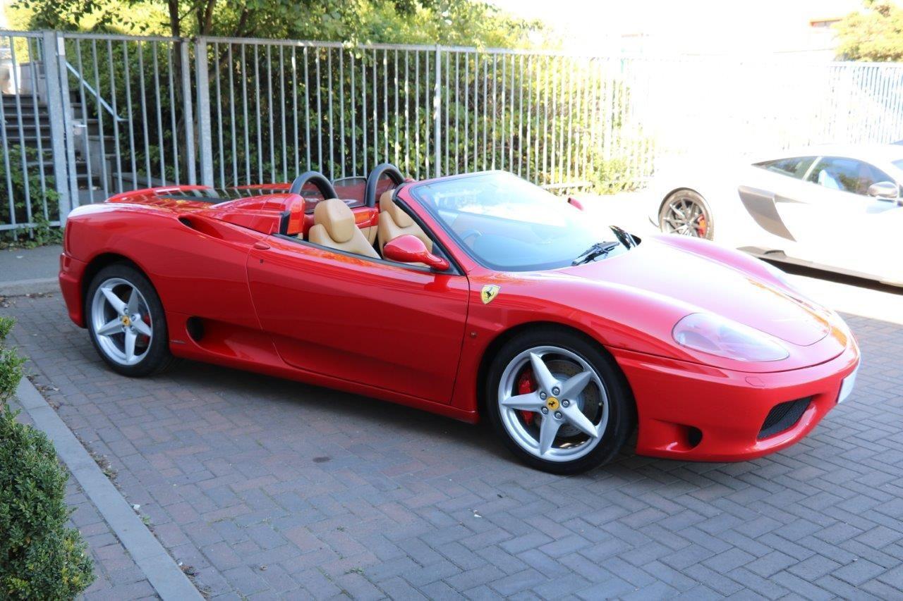 Ferrari 360 Spider For Sale In Ashford Kent Simon Furlonger Specialist Cars