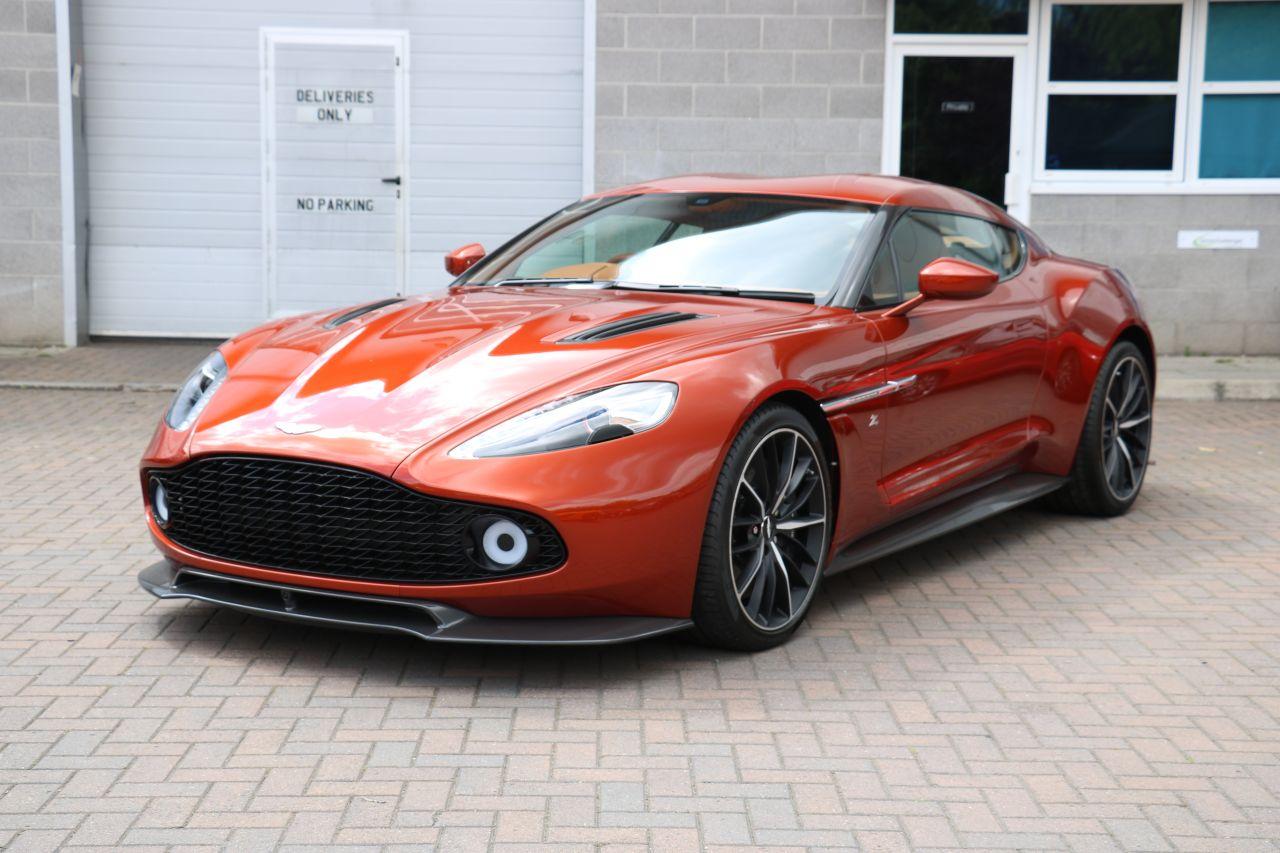 Aston Martin Vanquish Zagato For Sale In Ashford Kent Simon Furlonger Specialist Cars