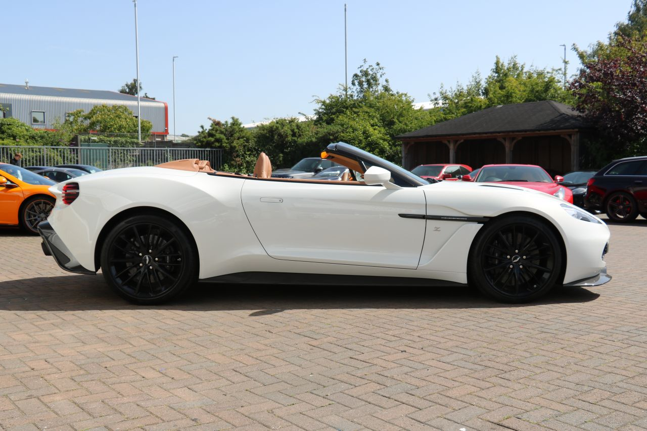 Aston Martin Vanquish Zagato Volante For Sale In Ashford