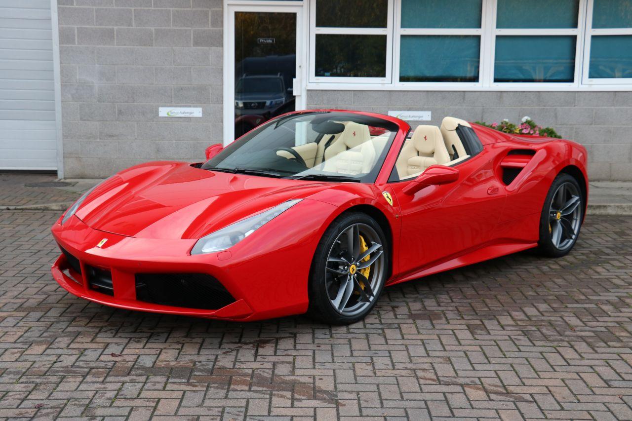 Ferrari 488 Spider For Sale In Ashford Kent Simon Furlonger Specialist Cars